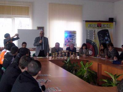 Училищен, регионален и национален кръг на националното състезание по приложна електроника Мога и зная как 2012г.   - Изображение 2