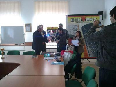 Училищен, регионален и национален кръг на националното състезание по приложна електроника Мога и зная как 2012г.   - Изображение 4