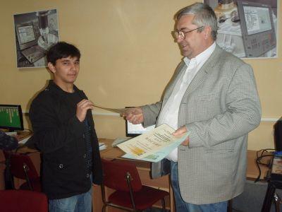 Участие в национално състезание Най-добър техник в машиностроенето 2012г. - Изображение 4